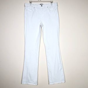NYDJ Barbara Bootcut Jeans in Optic White